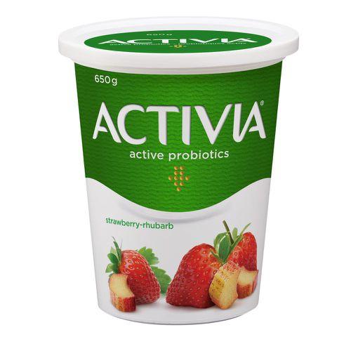 Strawberry-Rhubarb 2.9% M.F. Probiotic Yogurt,650g
