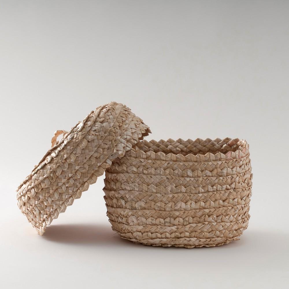 Canasto paja de trigo
