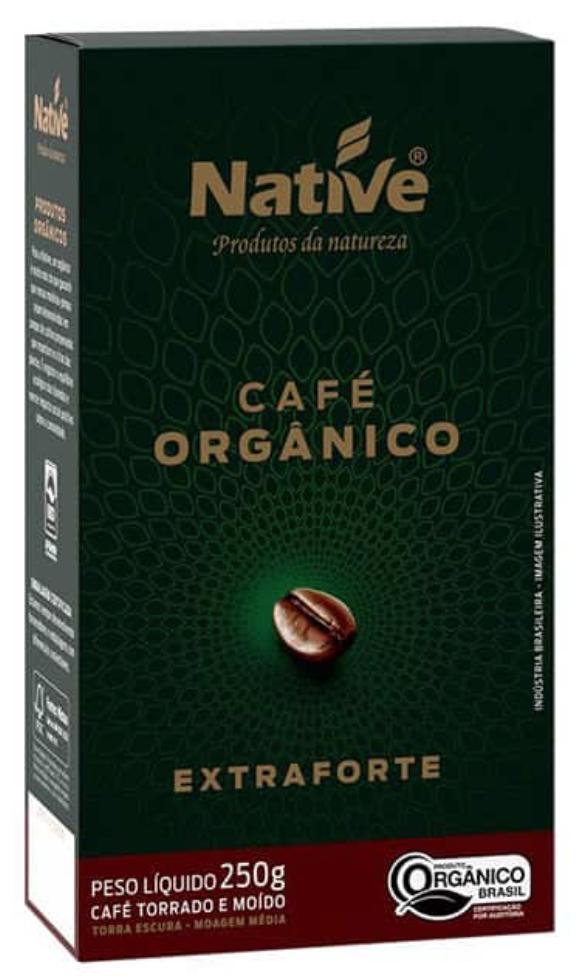 Cafe Molido Orgánico Extra Forte