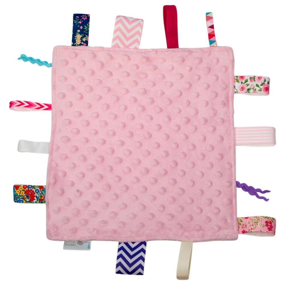 Tuto de etiquetas  rosado 30×30 cm