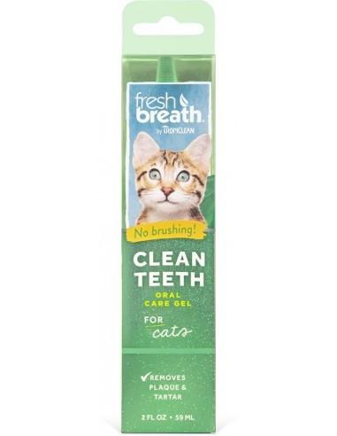 Clean teeth gel cat