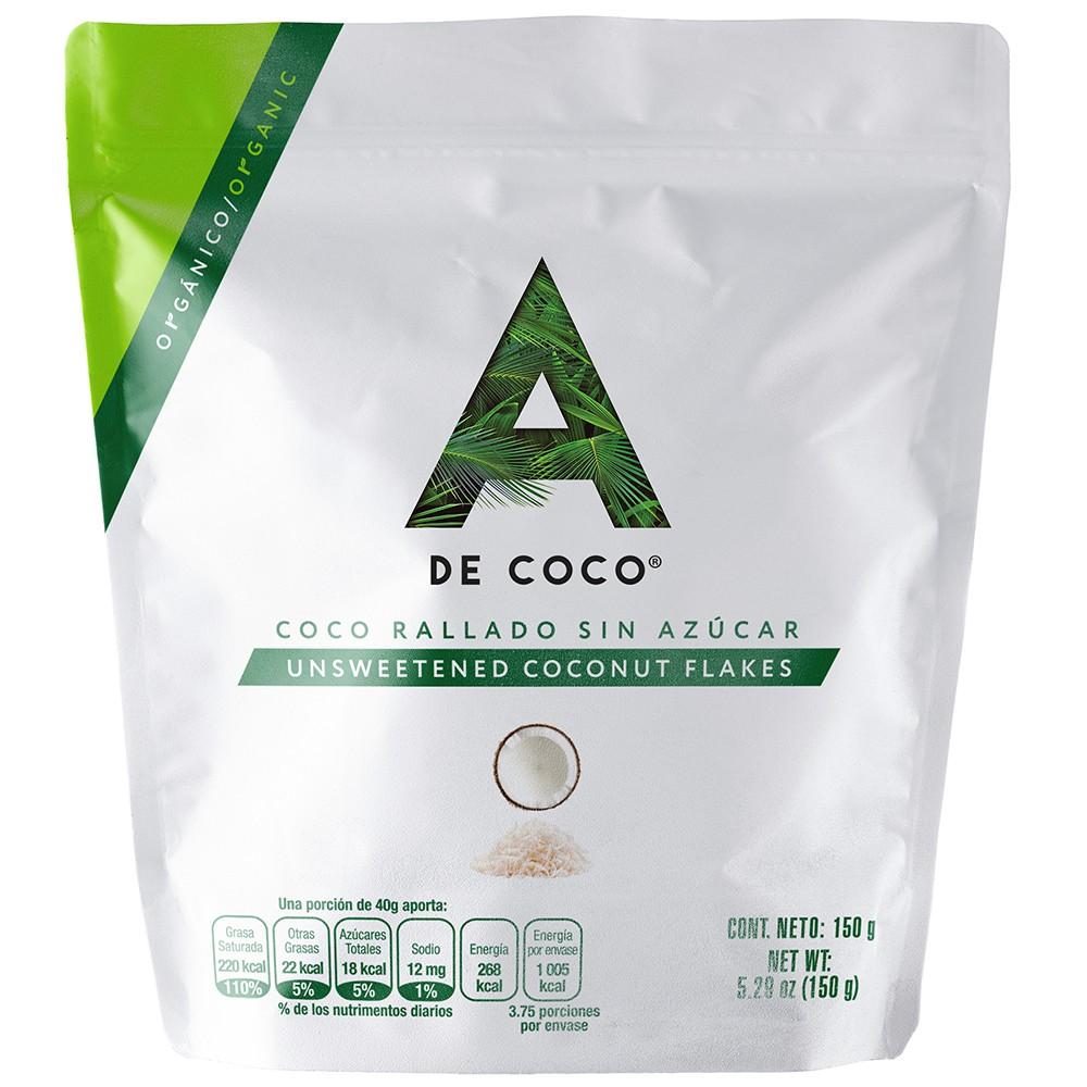 Coco orgánico deshidratado