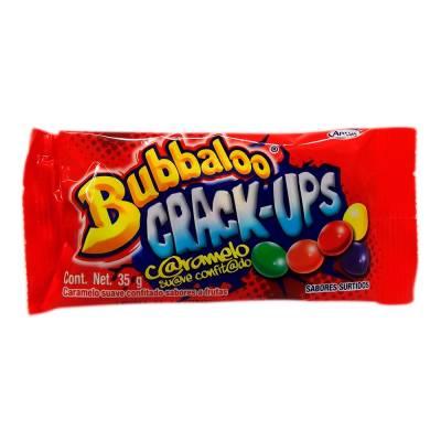 Crack Ups caramelo suave sabor a frutas