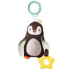 Peluche y sonajero pinguino