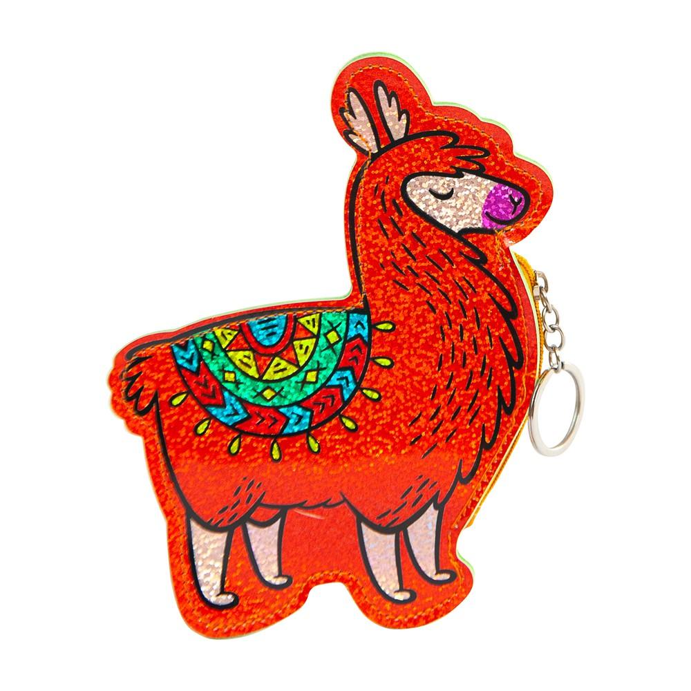 Monedero / llavero Llama