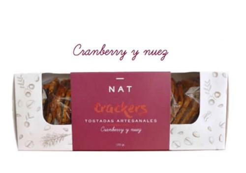 Cranberry y nuez