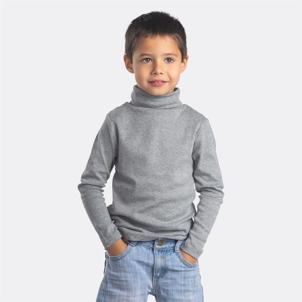 Beatle infantil algodón manga larga MT4440 gris
