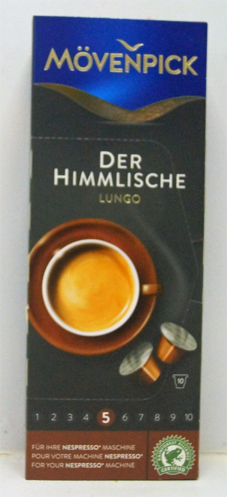 Der Himlische Lungo 10 Cápsulas Stock 5 unidades Caja de 10 capsulas