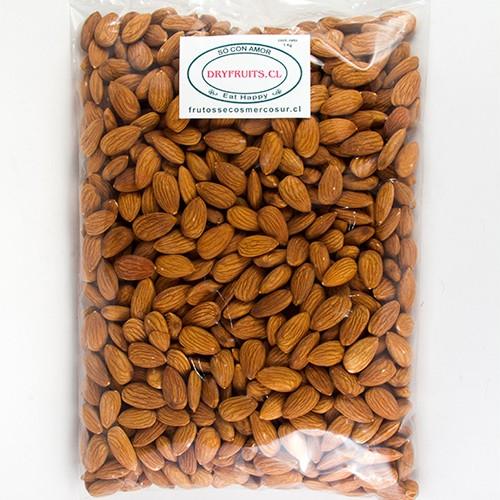 Almendra natural Non Pareil 1kg Bolsa 1Kg