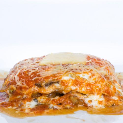 Lasagna alcachofa champiñón 6 a 8 Porciones