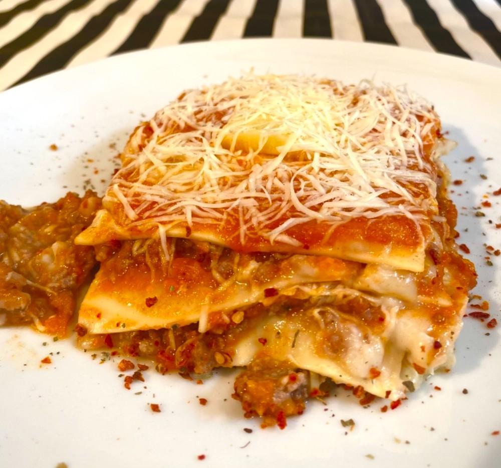 Lasagna boloñesa 2 a 3 Porciones