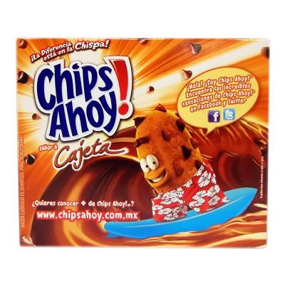 Galletas chispas sabor chocolate y cajeta 342 g