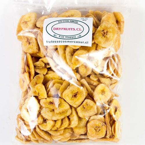 Plátano deshidratado Bolsa 400 g