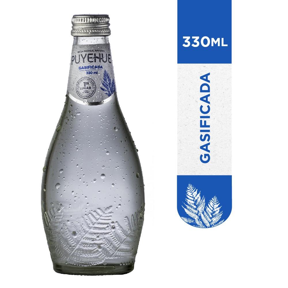 Agua mineral con gas Botella 330 ml
