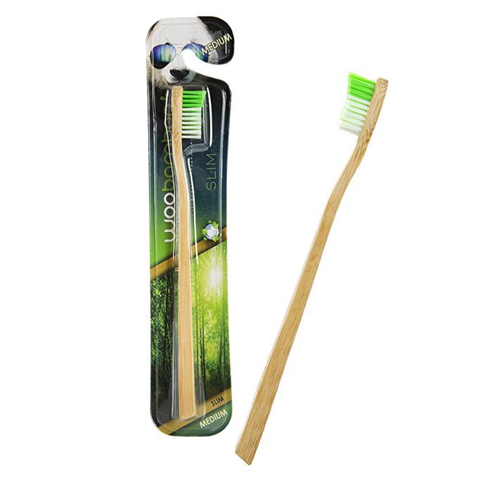 Cepillo dental bambú