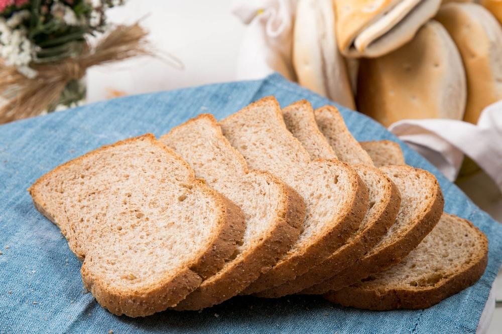 Pan de molde integral chico
