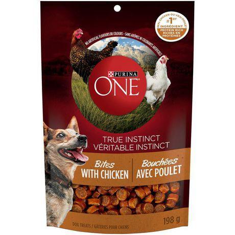 True instinct bites natural dog treats chicken