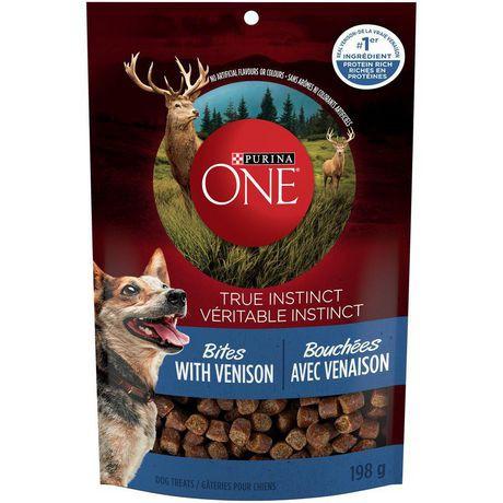 True instinct bites natural dog treats venison