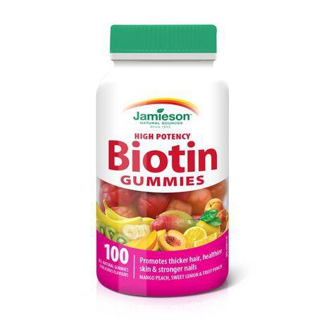 Jamieson High Potency Biotin Gummies