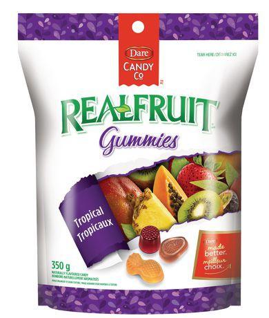 Dare RealFruit Gummies Tropical