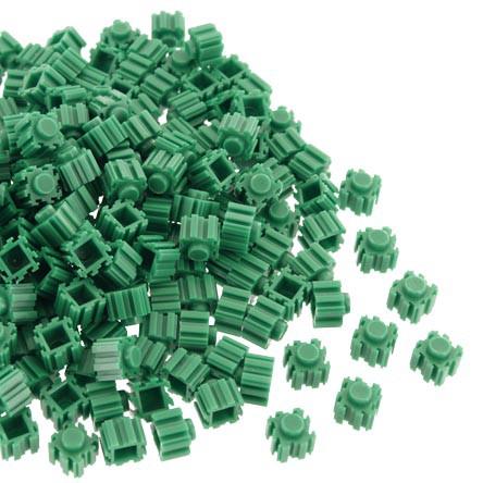 Block 3d Fino 9x11mm - Verde