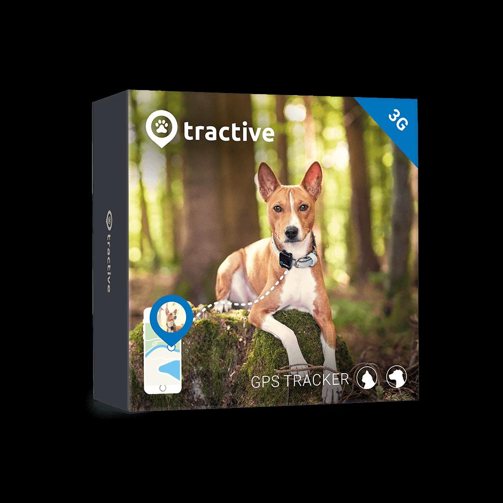 Tractive 3G Collar GPS 4cmx5cmx4cm
