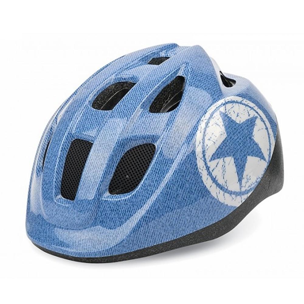 Casco bicicleta jeans con estrella s