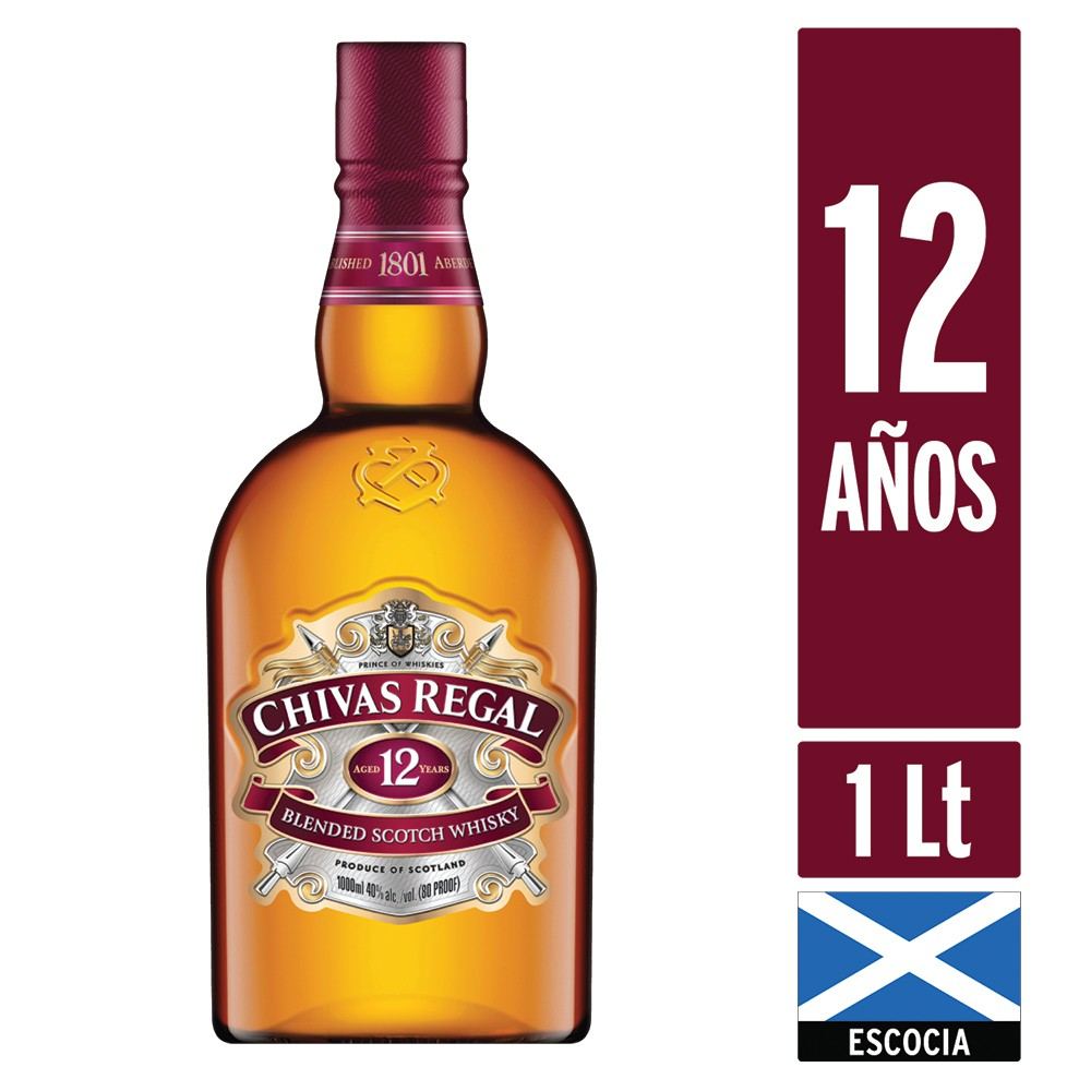 Whisky 12 años