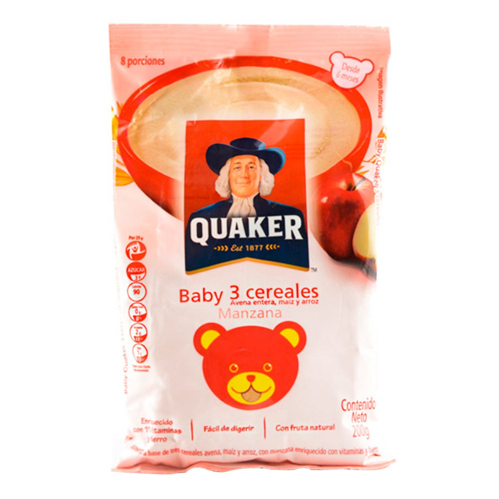 Baby Quaker de Manzana