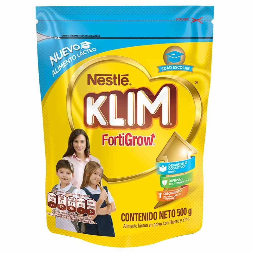 Alimento lácteo Klim fortigrow edad escolar polvo dp