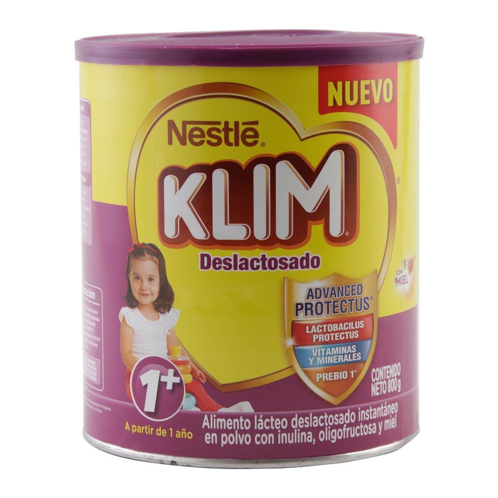 Alimento lacteo klim deslactosado 1+ miel