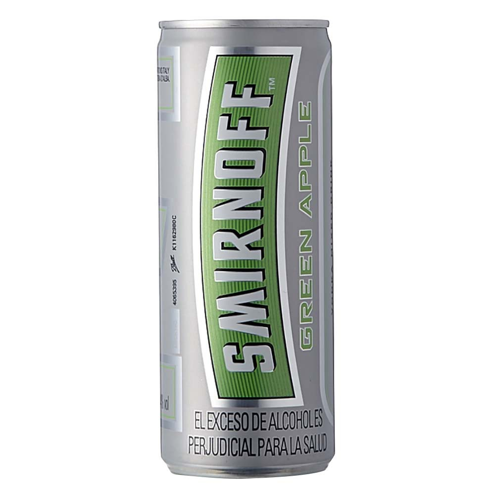 Coctel Smirnoff ice green apple lata