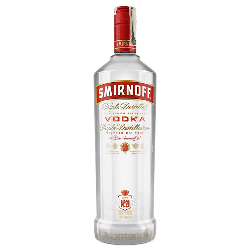Vodka Smirnoff red