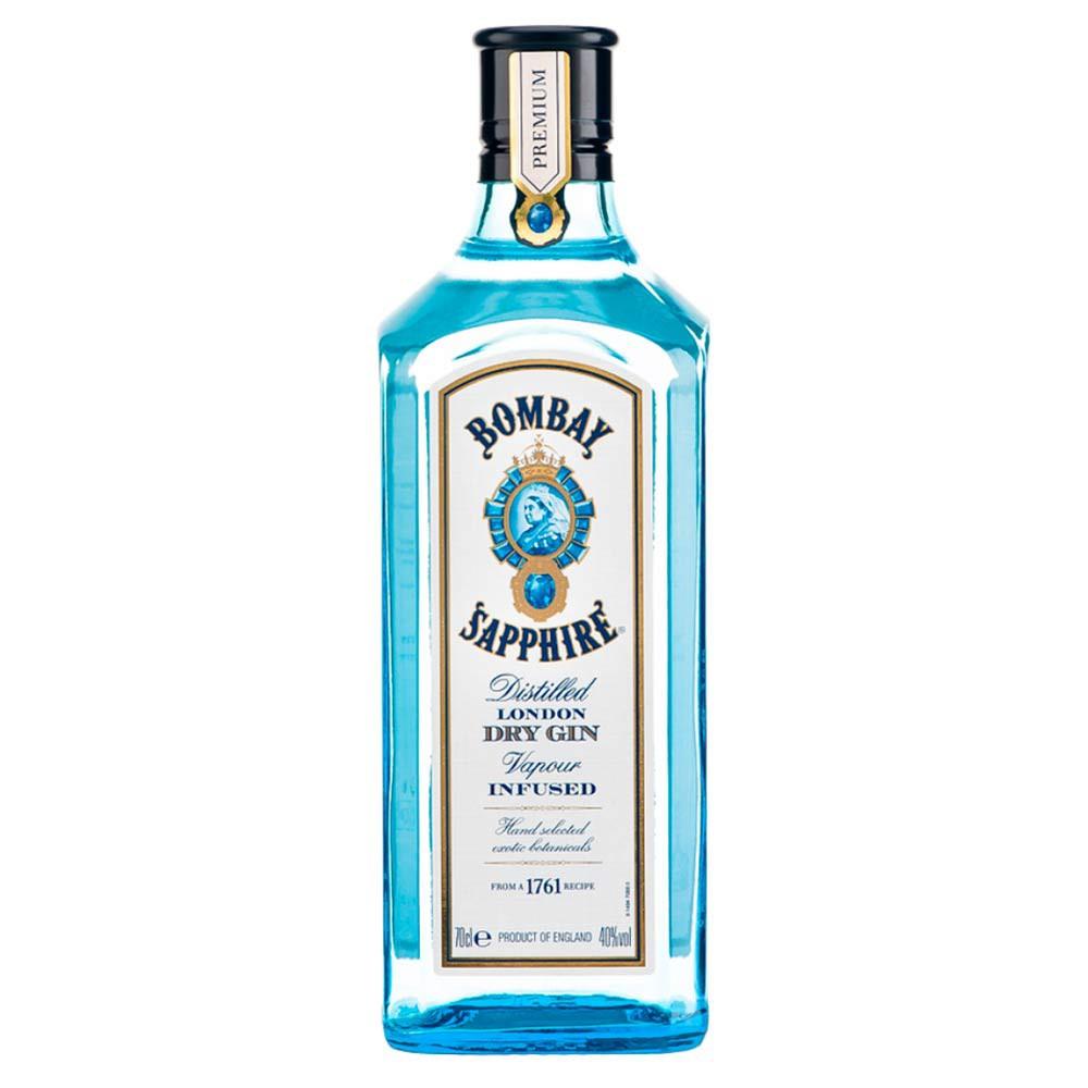 Ginebra Bombay sapphire london dry botella 500 ml