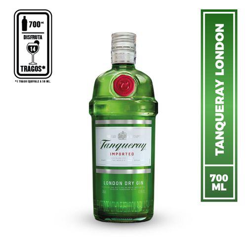 Ginebra London dry gin 700 ml