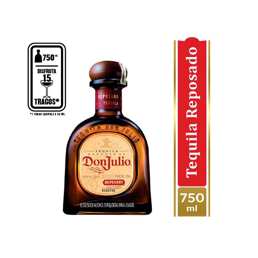 Tequila reposado 750 ml