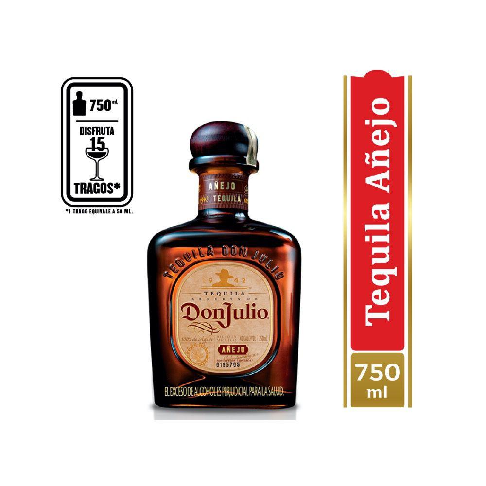 Tequila añejo 750 ml