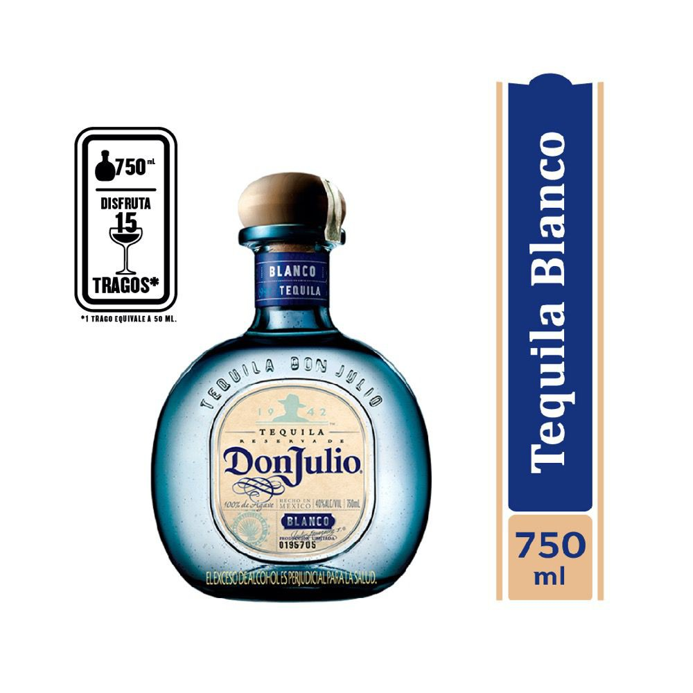 Tequila blanco 750 ml