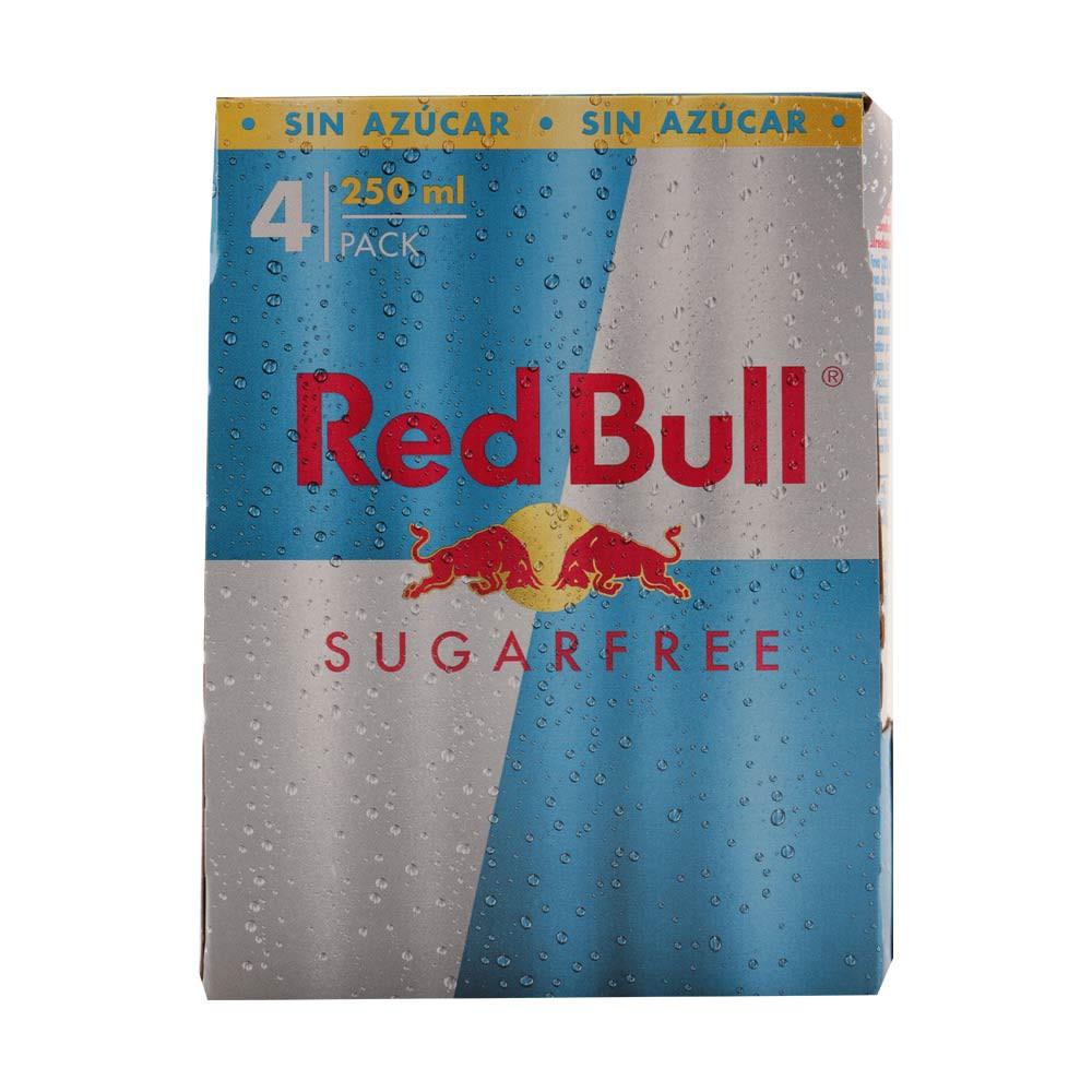 Bebida energizante Red Bull sin azúcar lata