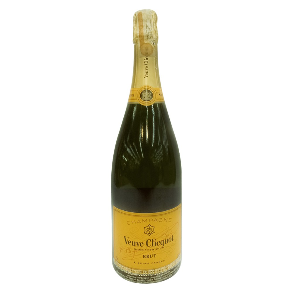 Champaña Veuve Cliquot brut