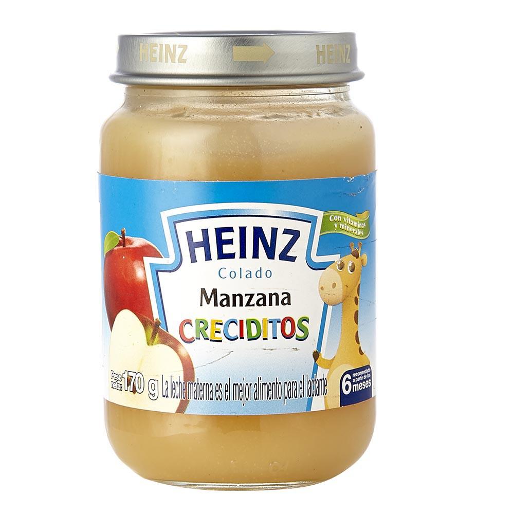 Compota creciditos manzana Heinz