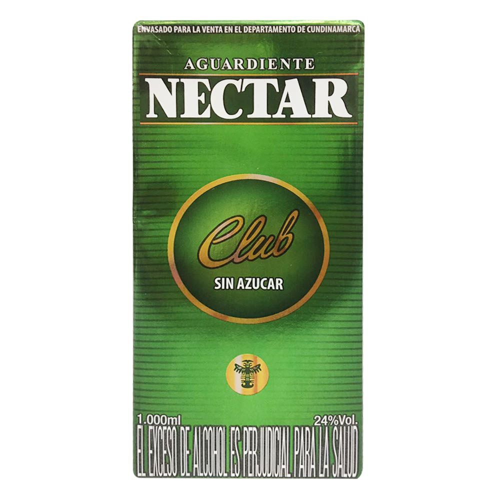 Aguardiente Nectar club