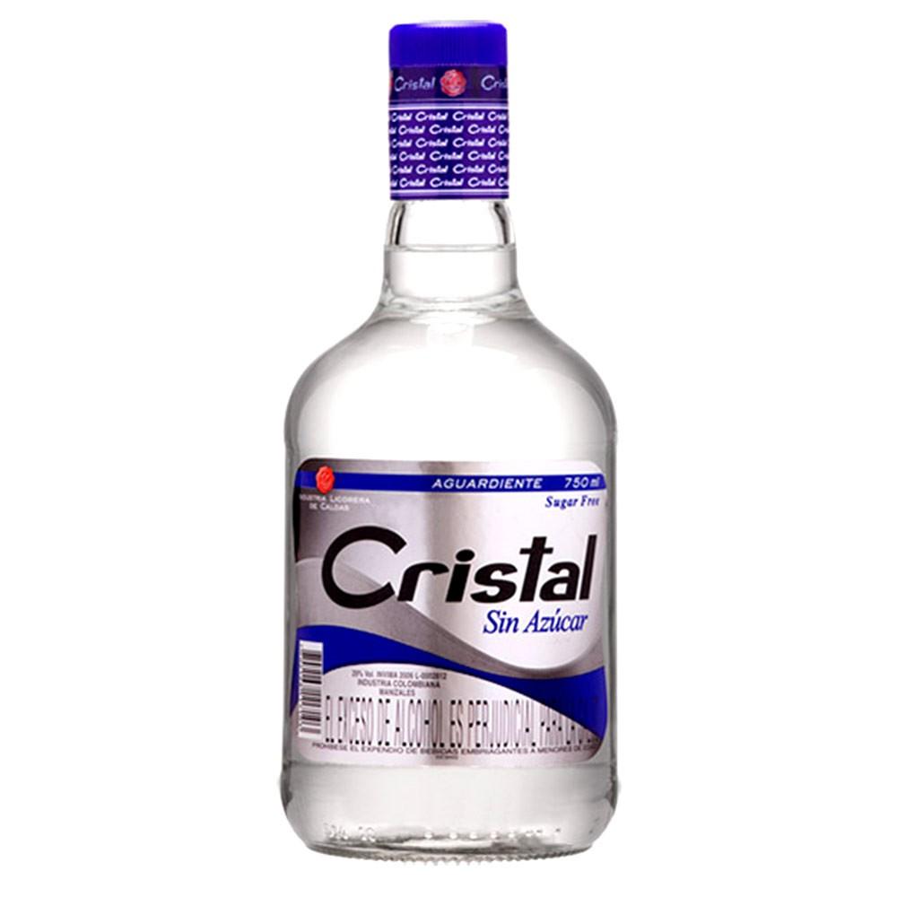 Aguardiente Cristal botella