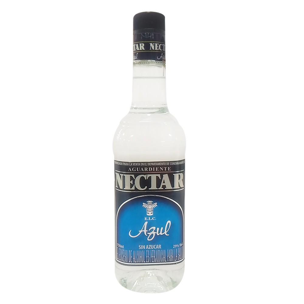 Aguardiente Nectar azul sin azúcar