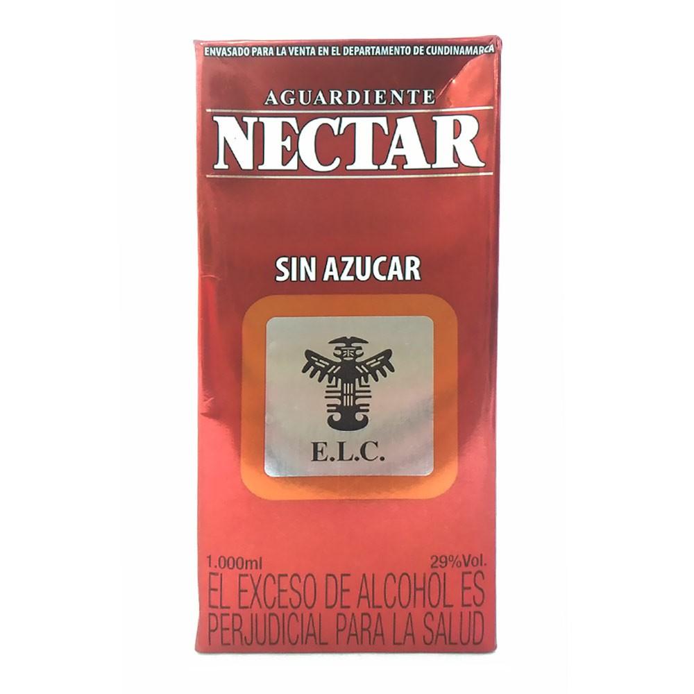 Aguardiente Nectar sin azúcar
