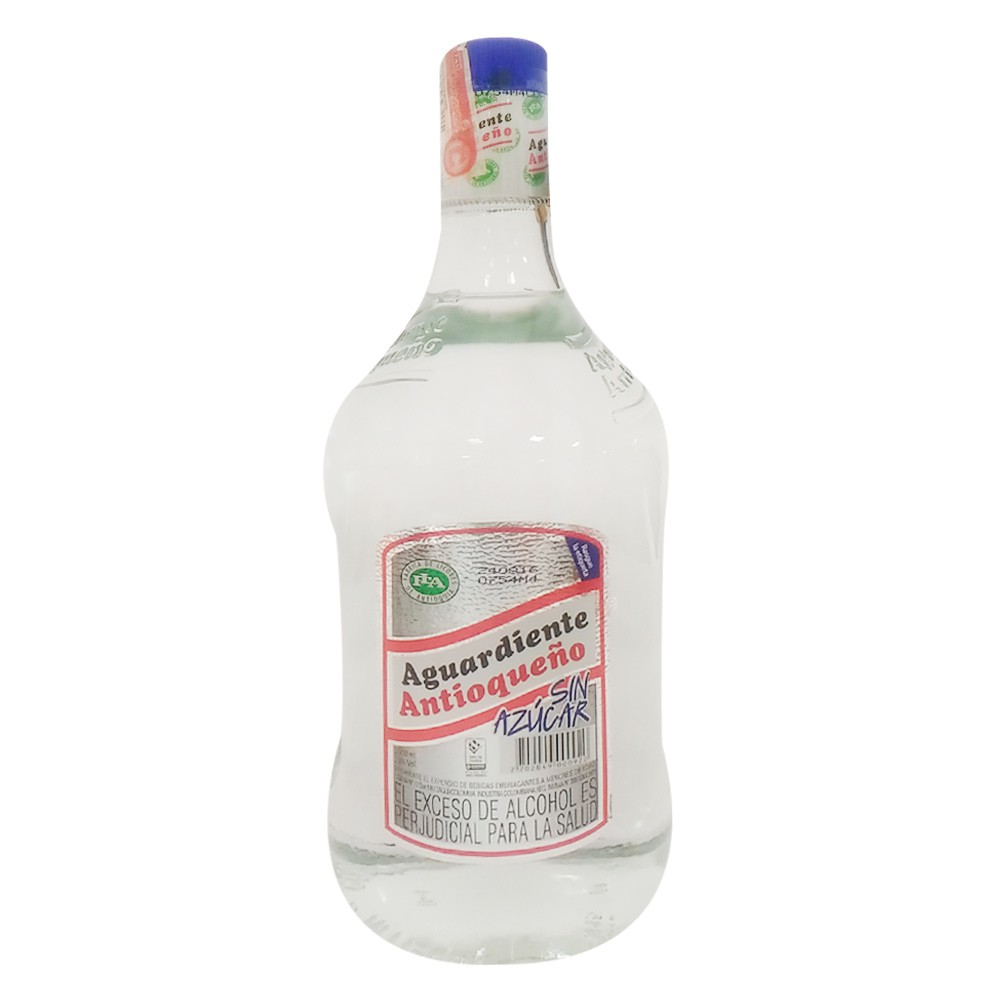 Aguardiente Antioqueño sin azúcar garrafa