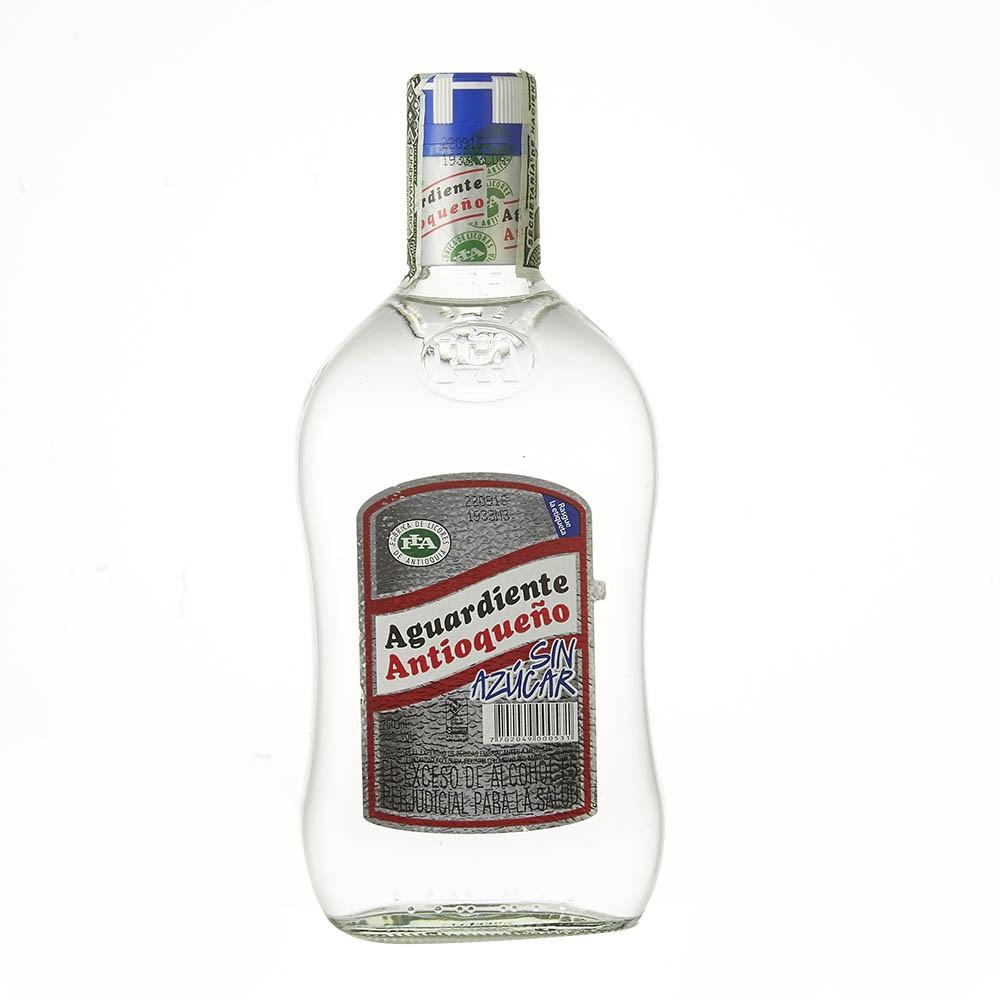 Aguardiente Antioqueño sin azúcar 29 vol 750 ml