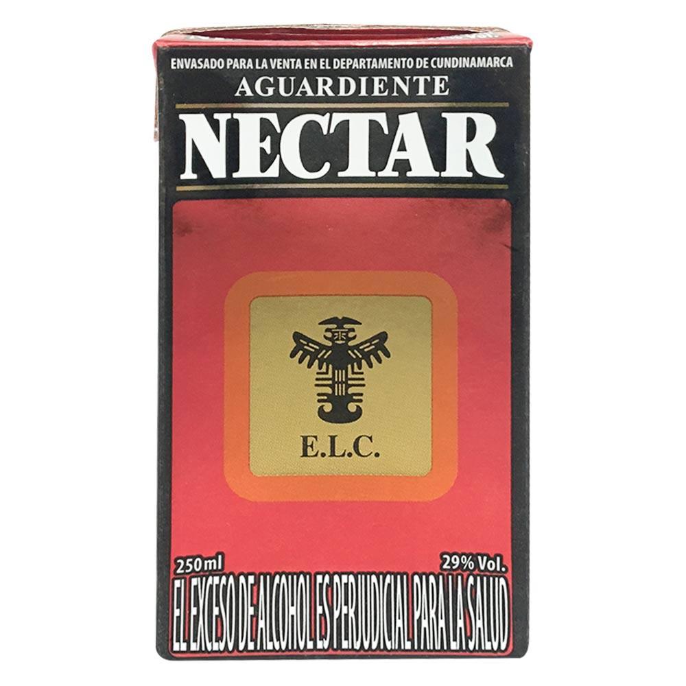 Aguardiente Nectar 250 ml tetrabik