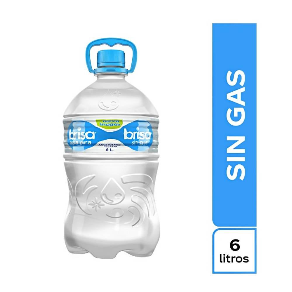 Agua sin gas Botellón 6 L
