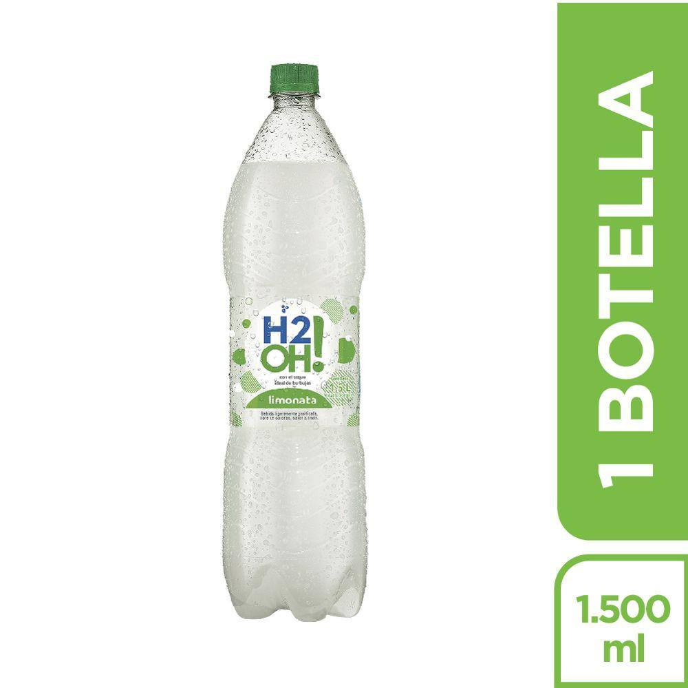 Bebida gasificada limonata H2oh!